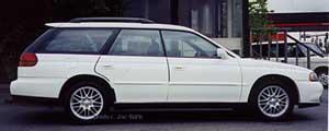 Subaru GT Wagon White 1999