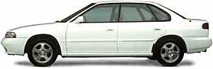 1995 subaru legacy lsi sedan