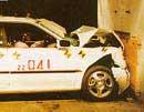Legacy crash test at 30mph