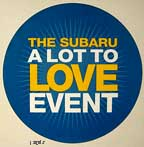 Subaru Lot to Love event, August 2010