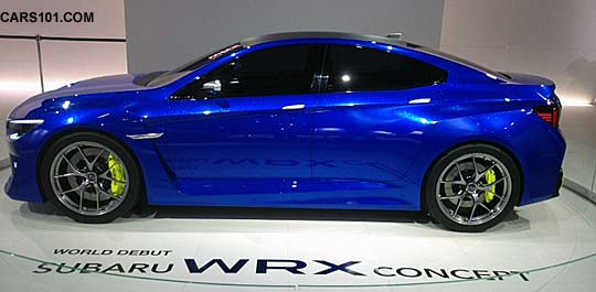 wrx concept at 2013 New York Intl Auto Show NYIAS, March 2013