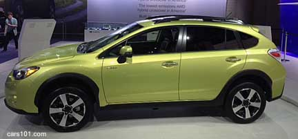 click for more info on the 2014 subaru crosstrek hybrid