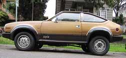 1981-1983 amc eagle sx4 all wheel drive 2 door liftback