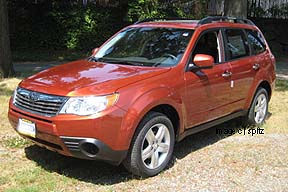 2010 Forester Premium, new Paprika color shown