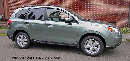 Redesigned All New 2017 Forester Jasmine Green Premium Model