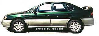 Subaru 2000 Timberline Green Outback Sedan. Visit  www.cars101.com for all your Seattle Subaru needs