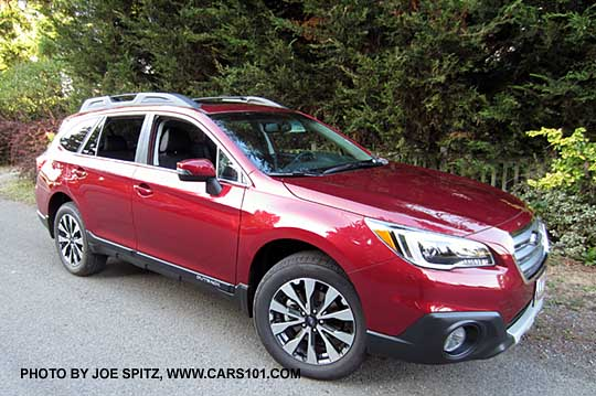 2017 Outback Limited Venetian Red Color Shown