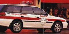 1999 Outback SSV, Special Service Vehicle