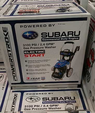Subaru Pressure Washer, 5/15