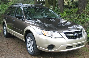 2008 Outback Deep Bronze with Harvest Gold accent