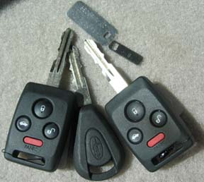 Subaru Keyless Entry Security Alarm Immobilizer Key