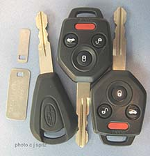 new for 2009 Subaru remote entry