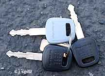 2005 STi Immobilizer keys