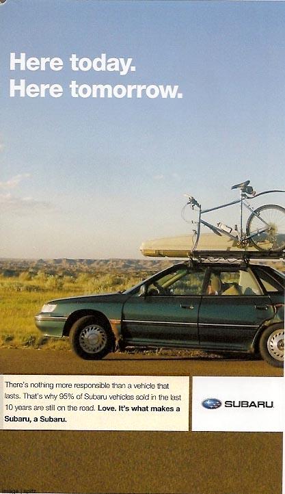 Subaru Advertising Photographs Page 3