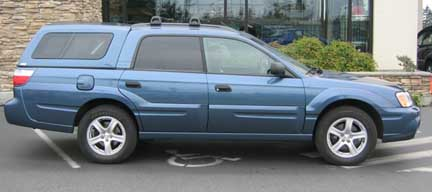 2006 And 2005 Subaru Baja Photographs And Images