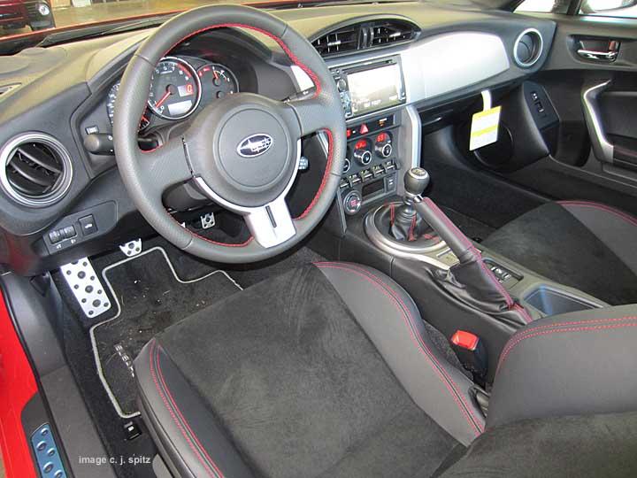 2014 And 2013 Subaru Brz Interior Photos
