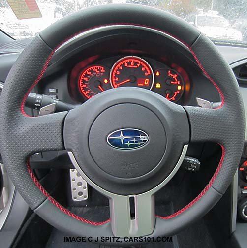 2014 And 2013 Subaru Brz Interior Photos
