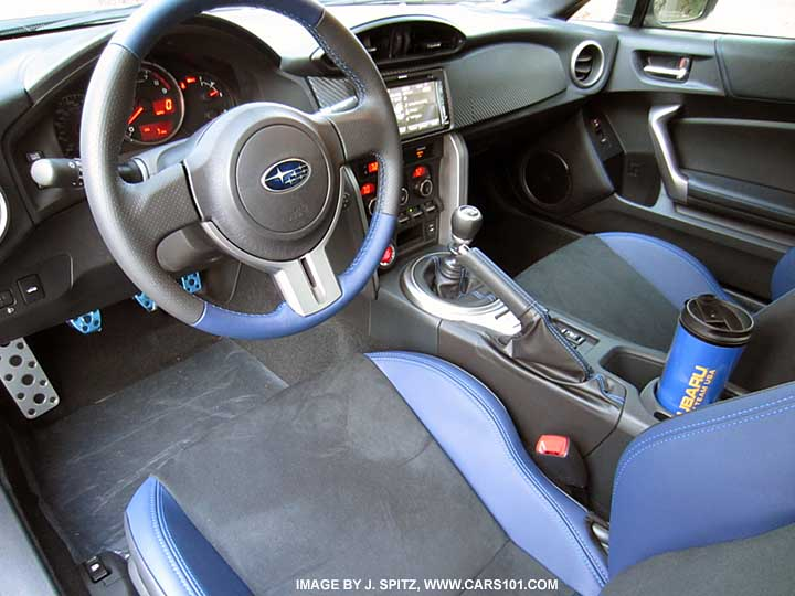 2015 BRZ Interior photos and images,