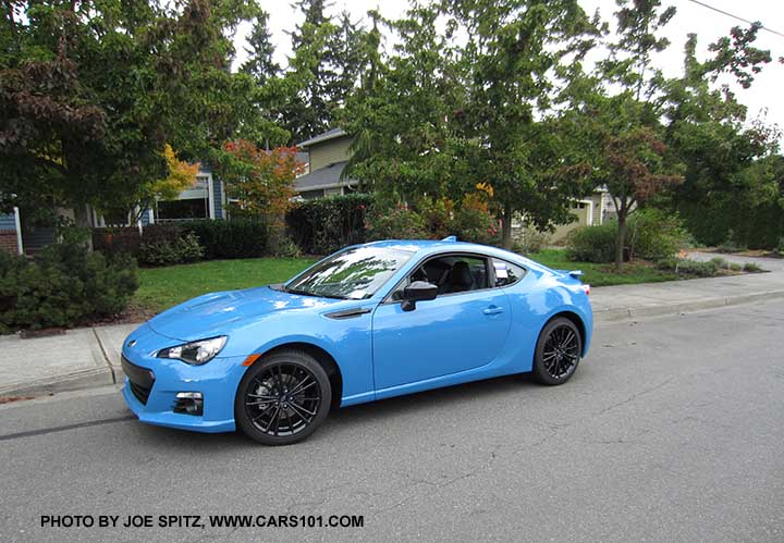 2016 subaru brz series hyperblue on the road. Black Bedroom Furniture Sets. Home Design Ideas