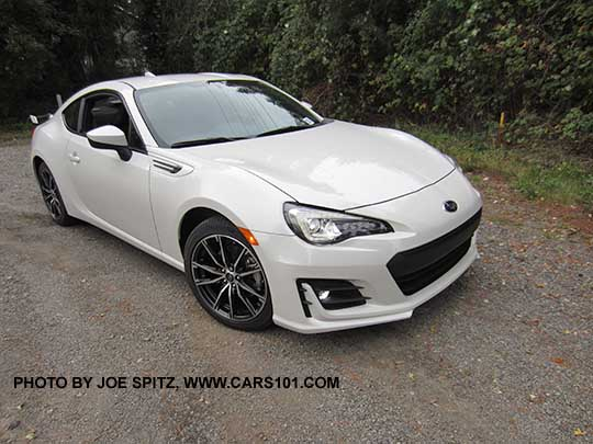 2017 Brz Limited Has Led Fog Lights And Headlights Crystal White Pearl Color