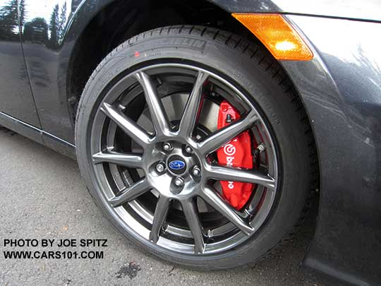 Right Front Wheel On A 2017 Brz Limited 17x7 5 10 Spoke High Er