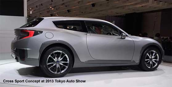 Cross Sport Brz Wagon At 2017 Tokyo Auto Show