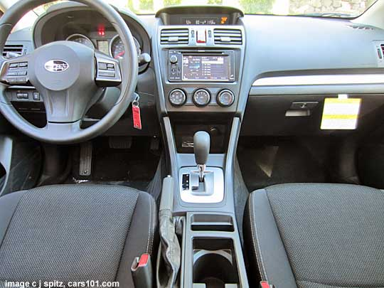 Subaru Xv Crosstrek Interior Gray With Navigation Gps