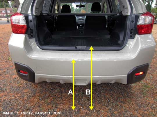 Subaru Xv Crosstrek Measurements