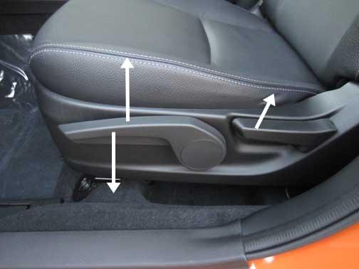 Crosstrek Seat Adjustments on Fiat 500 Parts Manual