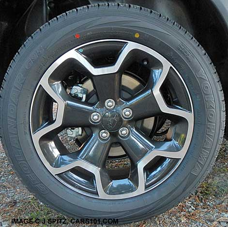 Crosstrek 17 Gray Alloy Wheel