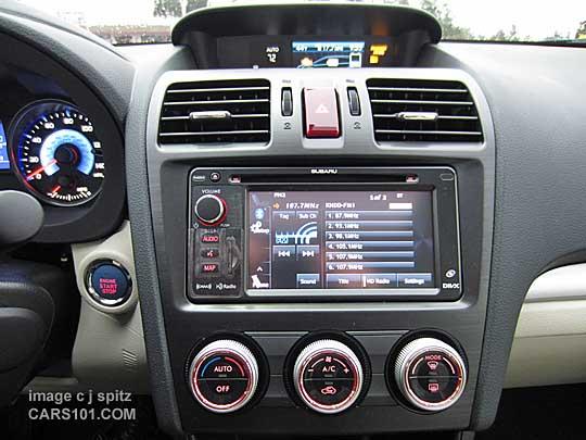 Model Lit 2014 : Subaru xv crosstrek interior photo page