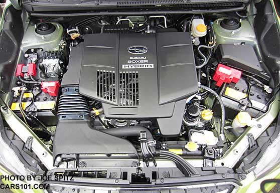 Subaru Crosstrek Hybrid Engine Compartment With Cover
