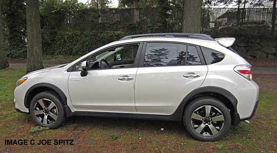 white XV Crosstrek Hybrid image