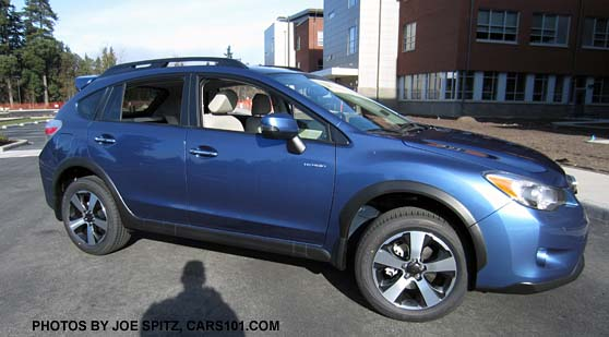 Crosstrek Hybrid Touring Quartz Blue