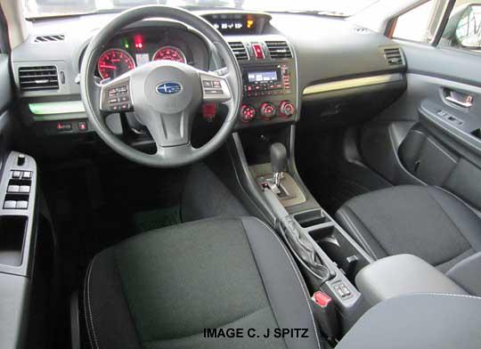 2014 subaru xv crosstrek premium interior gray cloth interior - Subaru crosstrek interior lighting ...
