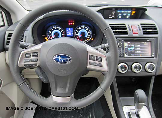 2017 Subaru Crosstrek Hybrid Touring Leather Wred Steering Wheel Navigation Gps