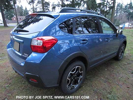 2017 Subaru Crosstrek Quartz Blue Color