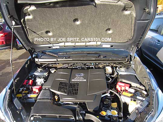 2016 subaru crosstrek hybrid engine and engine cover underhood insulator. Black Bedroom Furniture Sets. Home Design Ideas
