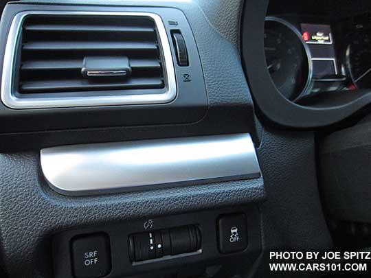 2016 subaru crosstrek interior photos page 3 - Subaru crosstrek interior lighting ...