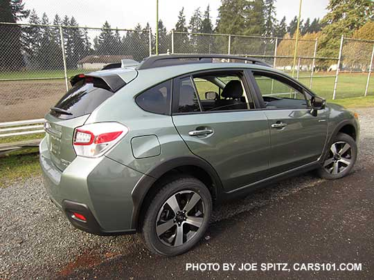 2016 Subaru Crosstrek Hybrid Touring Jasmine Green Color