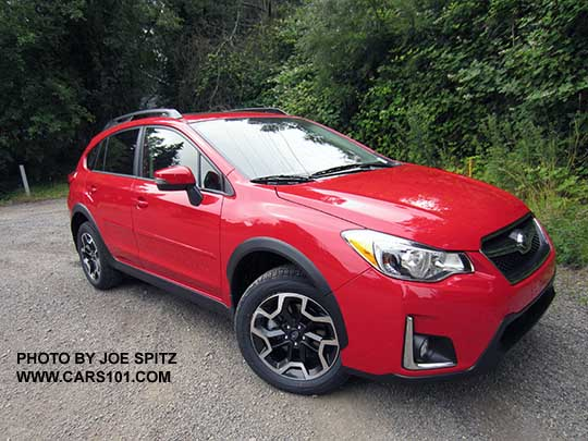 2016 Subaru Crosstrek Special Edition Only 1500 Made All Pure Red June