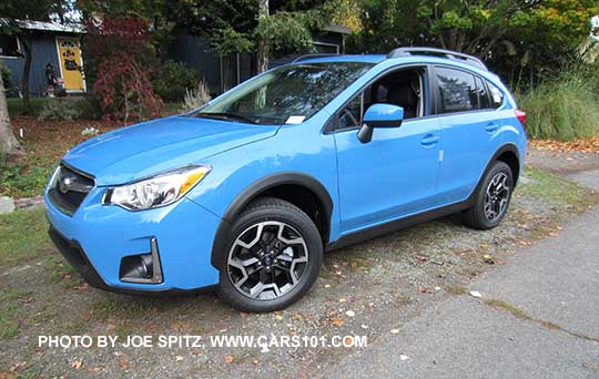 2016 Crosstrek Premium Hyperblue Color