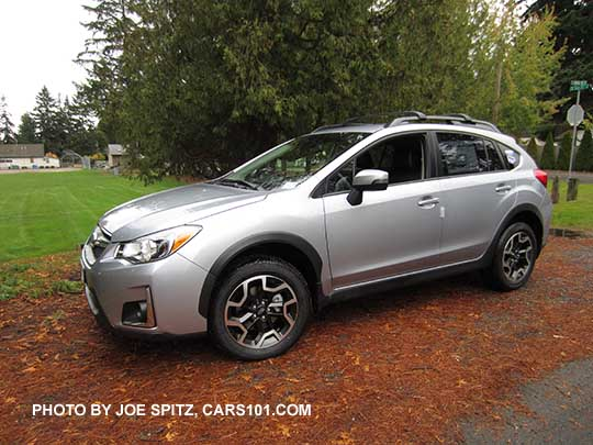 2016 Subaru Crosstrek Ice Silver Shown