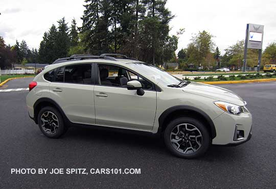 2016 Subaru Crosstrek Limited Desert Khaki Color Shown