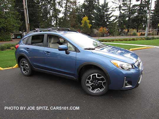 2016 Subaru Crosstrek Limited Quartz Blue Color Shown