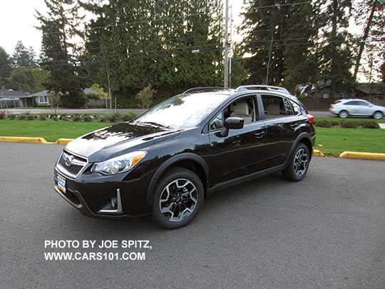 Crystal Black Color 2016 Crosstrek Premium