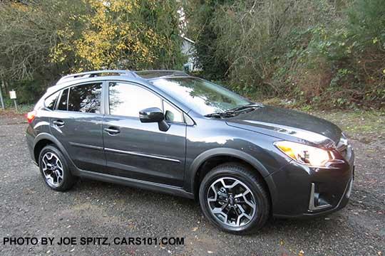 2016 Subaru Crosstrek With Optional Body Colored Side Moldings Dark Gray Car Shown