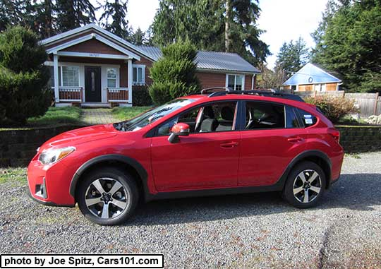 2017 Subaru Crosstrek Premium Special Edition Pure Red Color