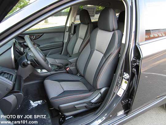 2018 subaru crosstrek premium. brilliant 2018 2018 subaru crosstrek premium driveru0027s seat with manual pumplever height  adjustment black cloth throughout subaru crosstrek premium