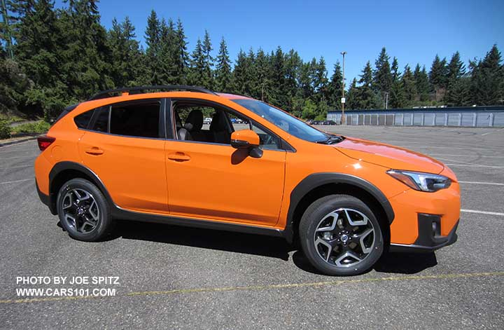 Inspirational 2018 Subaru Crosstrek orange